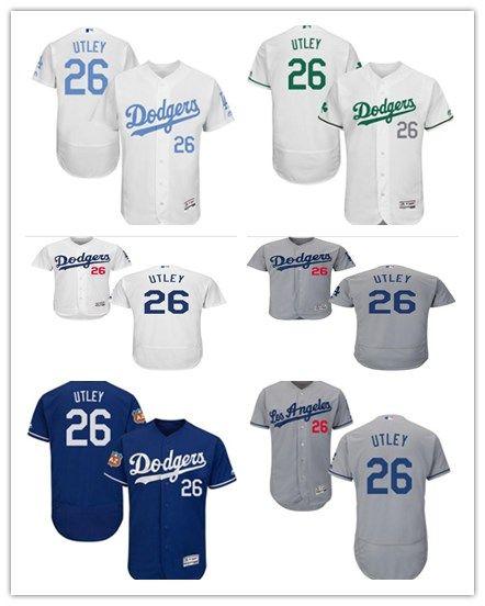 the latest daf52 25d7c 2018 Los Angeles Dodgers Jerseys #26 Chase Utley Jerseys  men#WOMEN#YOUTH#Men s Baseball Jersey Majestic Stitched Professional  sportswear