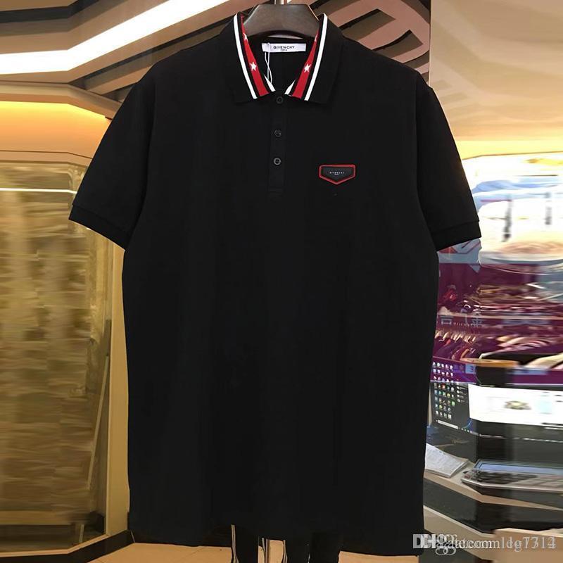28275b8f5fa7 2019 Spring Summer Brand New Fashion Polo Tops G Shirts Men Polo ...