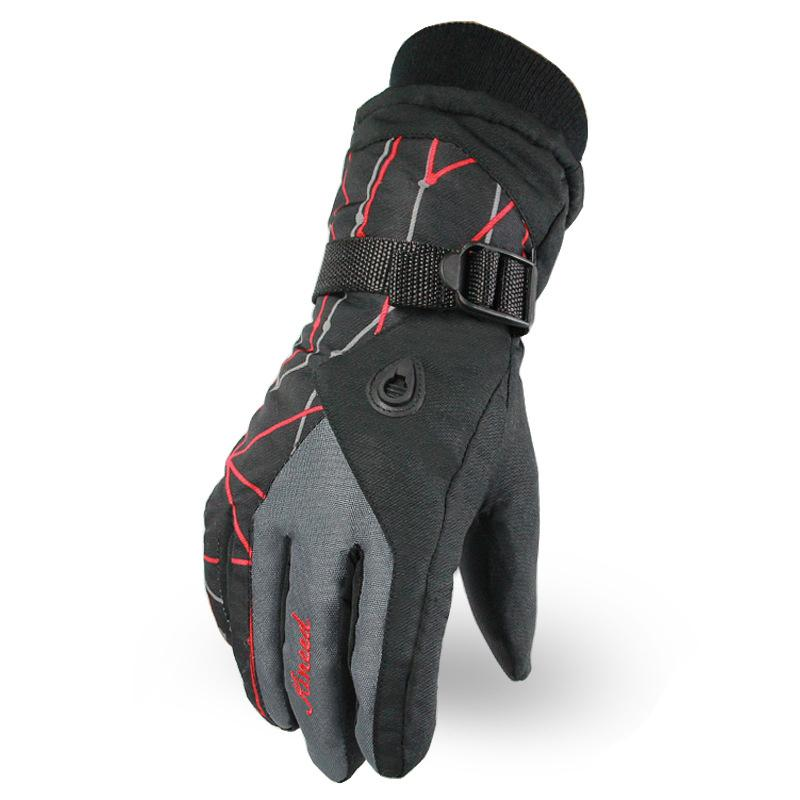 Special Buy 2018 New Sports Waterproof Gloves For Men And Women In Winter Outdoor Cycling Warm Gloves Velvet Ski Climbing Touch Screen