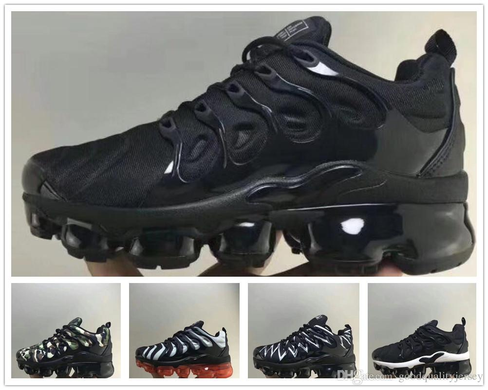 low cost 3f646 1a2f7 2019 Kids TN Plus Designer Sports Running Shoes Children Boys Girls  Trainers Tn Sneakers Classic Outdoor Toddler Shoe