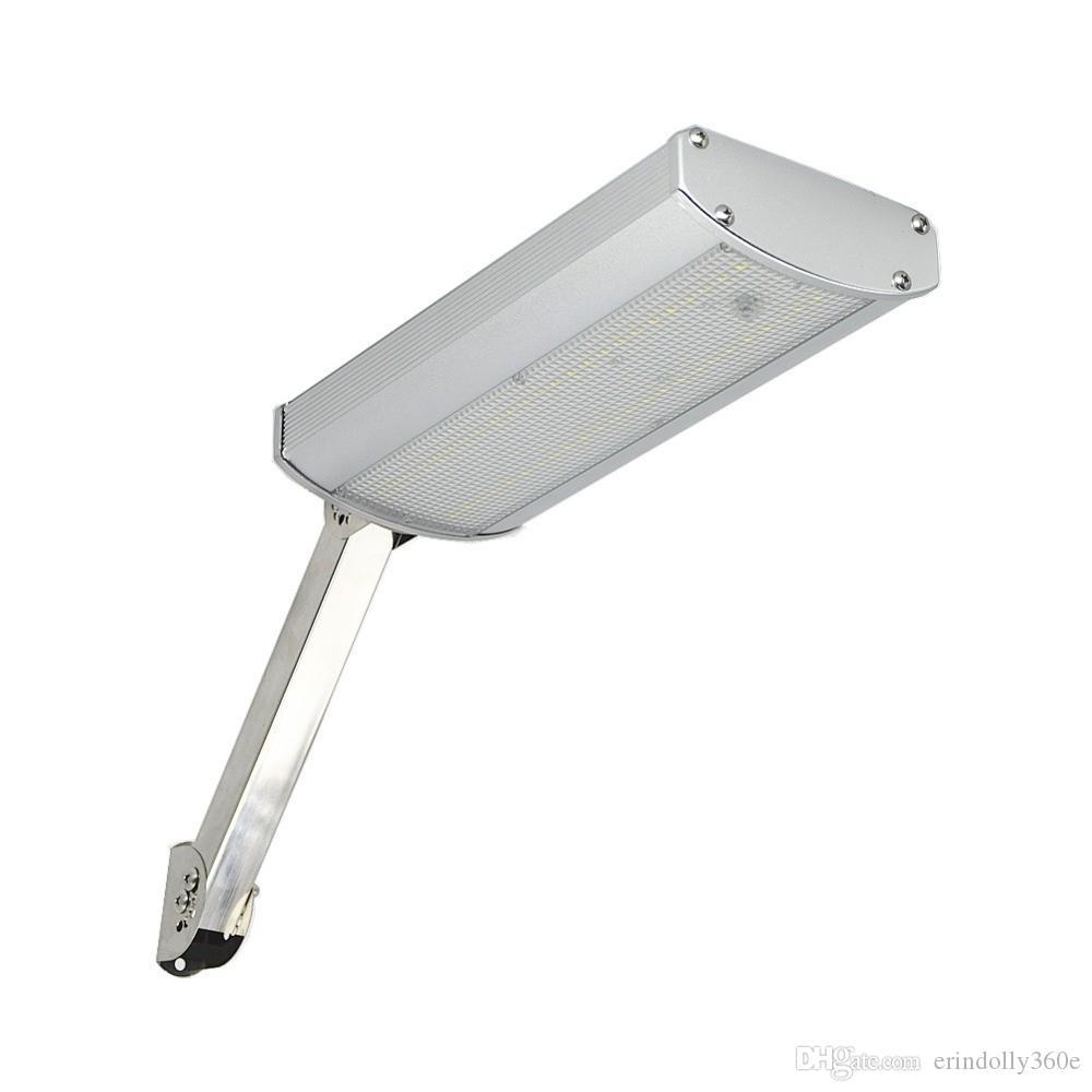 Led 800lm Lampe Mur Solaire Éclairage 48led Sonde Mouvement L Ousam Yard Imperméable Allume Le Avec De Ampoule Extérieur Sécurité D wZ8NnPOkX0