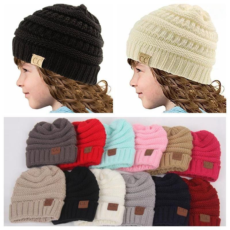 62b43a09646 Baby Hats CC Trendy Beanie Crochet Fashion Beanies Outdoor Hat Winter  Newborn Beanie Children Wool Knitted Caps Warm Beanie Straw Hats Crochet Hat  From ...