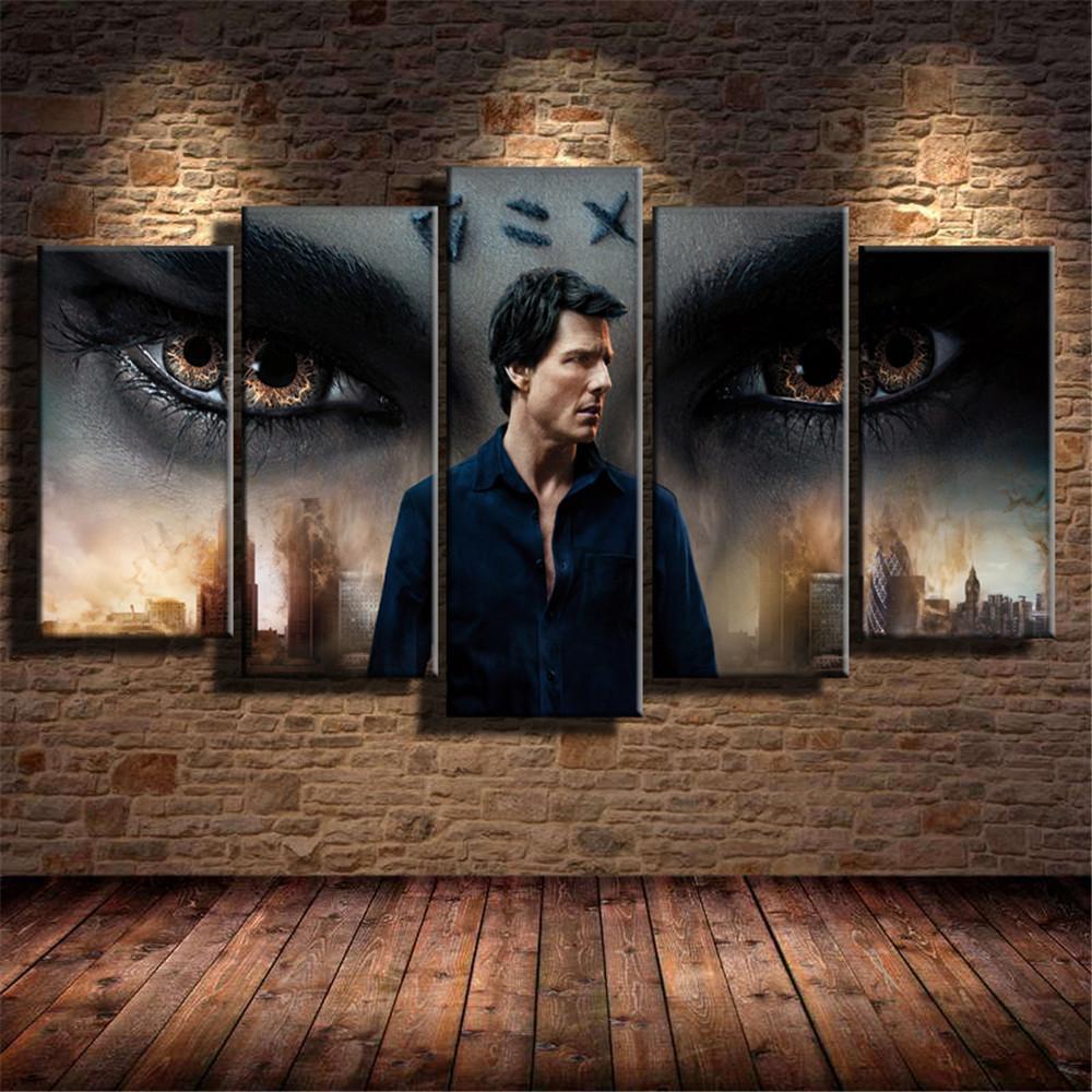 Großhandel Die Mumie Tom Cruise 5 Stück Hd Leinwanddruck Home Decor