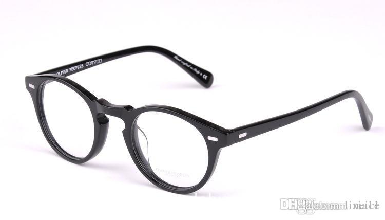 1bfdd2b37fe 2019 New Vintage Optical Glasses Frame Oliver Peoples Ov5186 Eyeglasses  Gregory Peck Ov 5186 Eyeglasses For Women And Men Eyewear Frame From  Lixia11