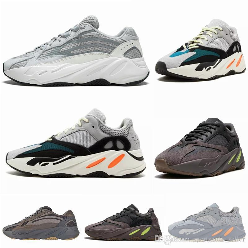 c4284208566539 Acquista 2019 Wave Runner 700 V2 Scarpe Da Corsa Da Uomo Mauve Inertia  Geode Kanye West Scarpe Da Ginnastica Sportive Da Ginnastica Sneakers Donna Scarpe  Da ...