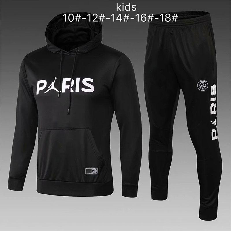 4f0b518a03234 Acheter Survêtement PSG Nouveau 2018 2019 KIDS Soccer Training 18 18 MBAPPE  CAVANI Maillot De Foot Paris À Capuche Enfant Sportswear De  35.54 Du ...