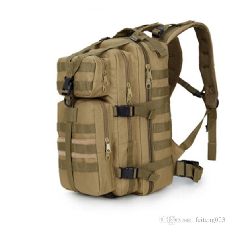 9c1f2faf5f4b 600D Waterproof Military Tactical Assault Molle Pack 35L Sling Backpack  Army Rucksack Bag for Outdoor Hiking Camping Hunting #373393