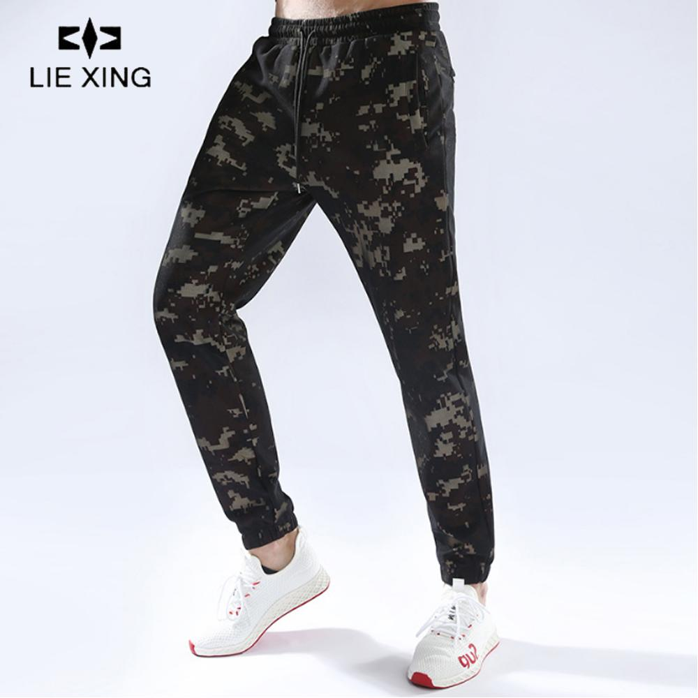 26704e4b7 2019 LIEXING Camouflage Running Training Jogging Pants Mens Joggers Slim  Fit Sweatpants Zipper Workout Polyester Sport Trousers Men From Teahong, ...