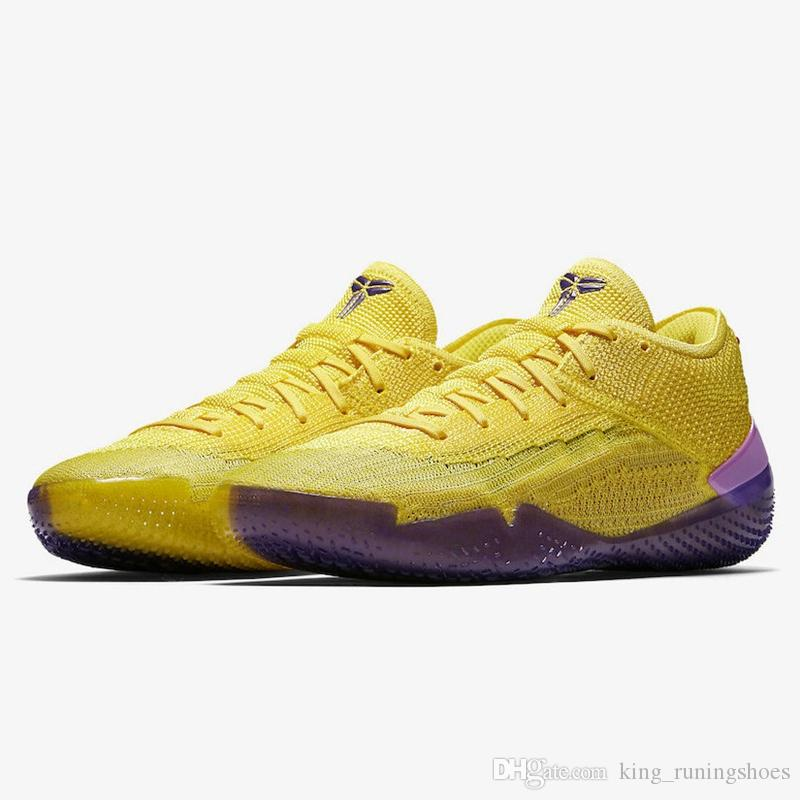 sale retailer 2abc1 60441 Großhandel Kobe 360 AD NXT Mamba Tag Yellow Strike Orange Weiß Multicolor  Derozan 2019 Neue Basketballschuhe AAA Qualität Herren Sneaker Lakers  Sneakers ...