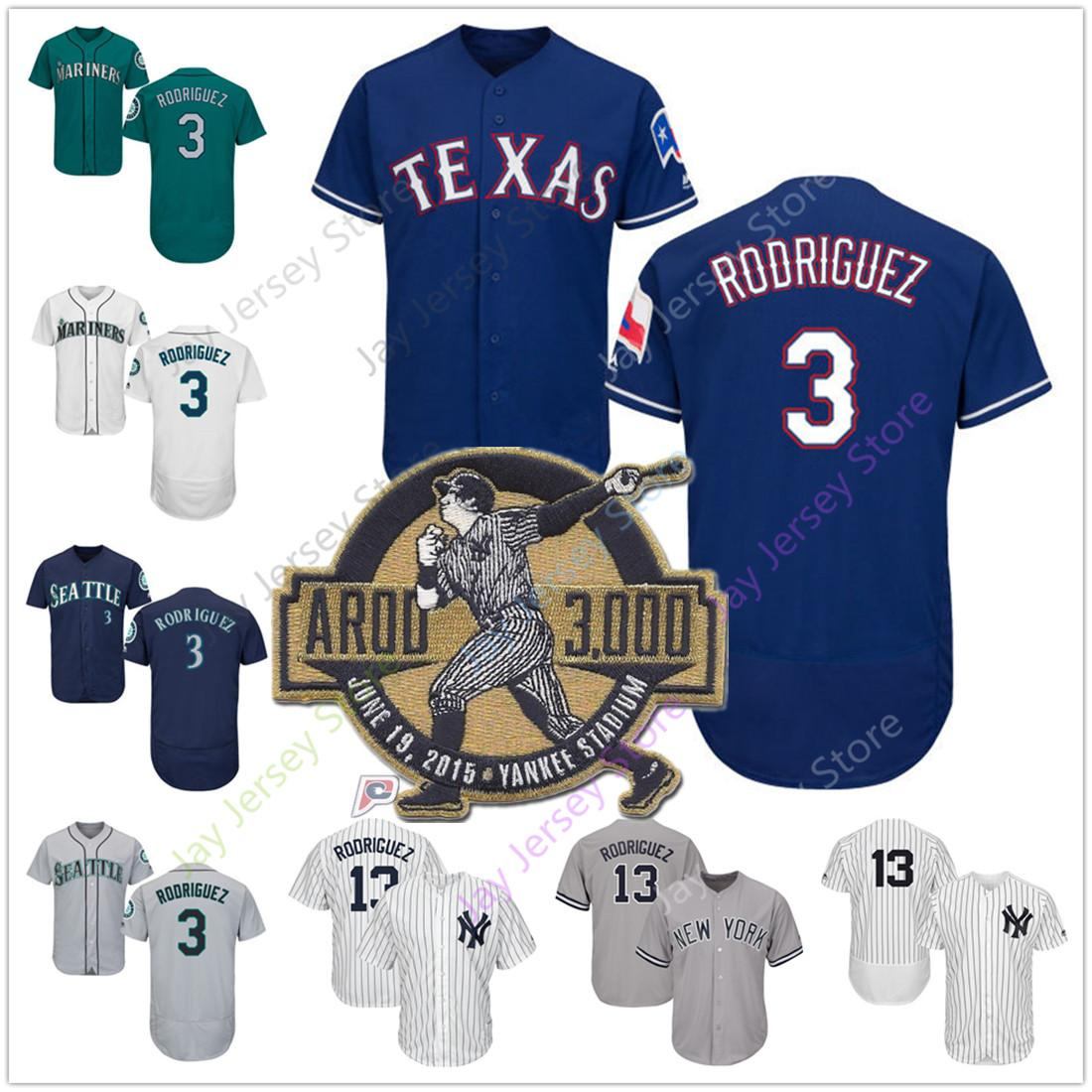640878d8 2019 Alex Rodriguez Jersey Men Women Youth Kid 3000th Hit Patch Yankees  Mariners Rangers New York Seattle Texas Home Away Cool Base From  Davidjersey, ...