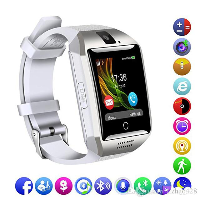 6bb2241c9a5e Mejores Celulares Bluetooth Smart Watch Men Q18 Con Pantalla Táctil ...