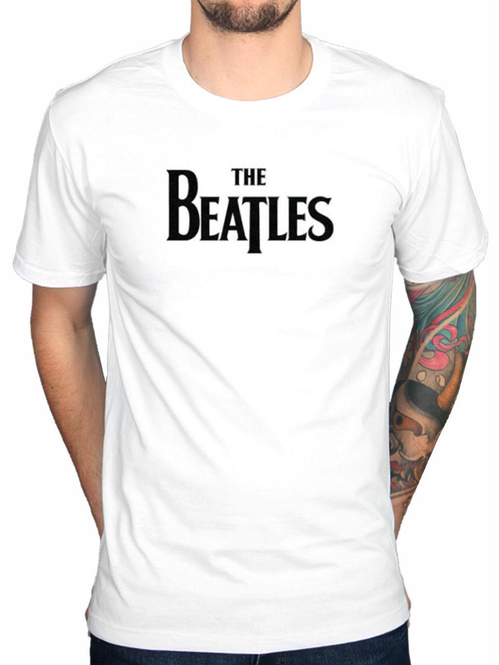ef766f87 Official The Beatles Drop T Logo Men's T-Shirt Lennon McCartney Fab Four  Relvolv Online with $13.54/Piece on Mentality80's Store | DHgate.com