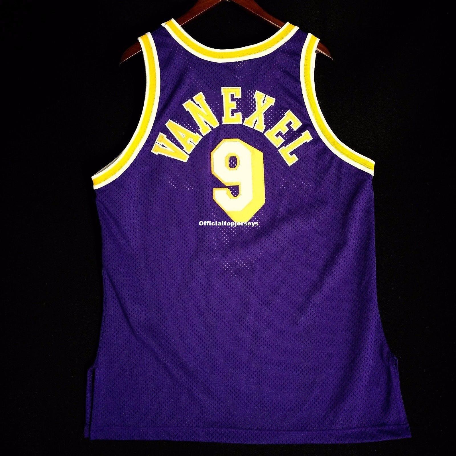 c184b23bf 2019 100% Stitched Nick Van Exel Champion Wholesale Jersey L Kobe Shaq Mens  Vest Size XS 6XL Stitched Basketball Jerseys Ncaa From Officialtopjerseys
