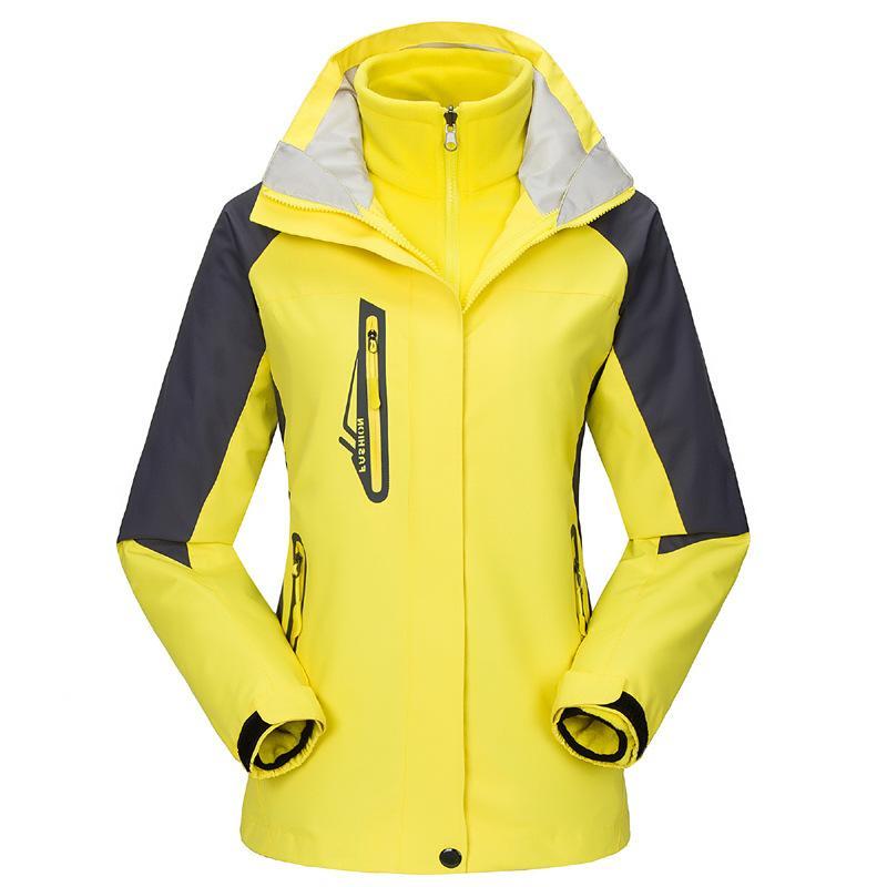 b31777f0371 Outdoor Jacket Women Winter Breathable Quick Dry Waterproof ...