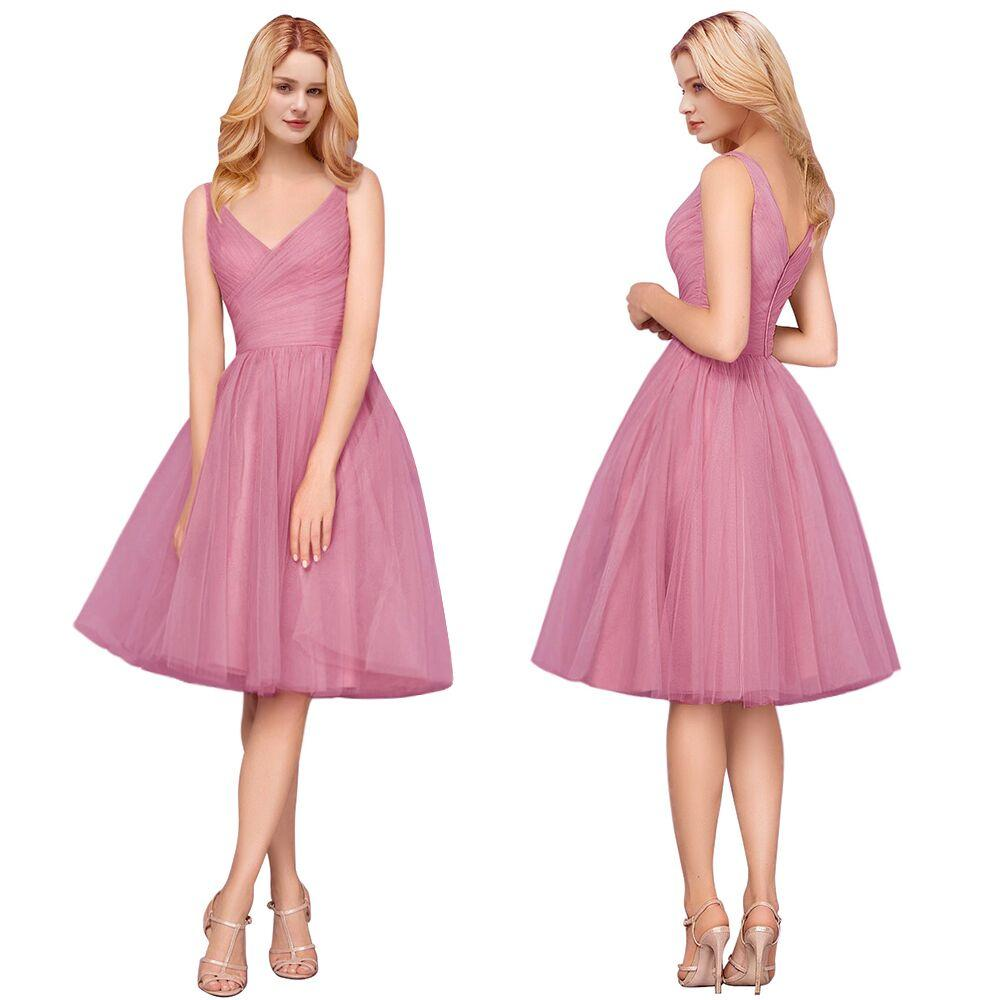 Strapless e A-line Style Chiffon Coral Bridesmaid Dresses Plus Size Mermaid  Maid Of Honor Gowns For Wedding Party Dress BM0155