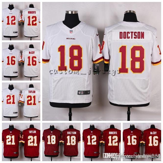 2019 Washington Redskins  21 Sean Taylor 18 Josh Doctson 16 Colt McCoy 12  Roberts Elite Football Jerseys From Hoodiesno4 8462e8716