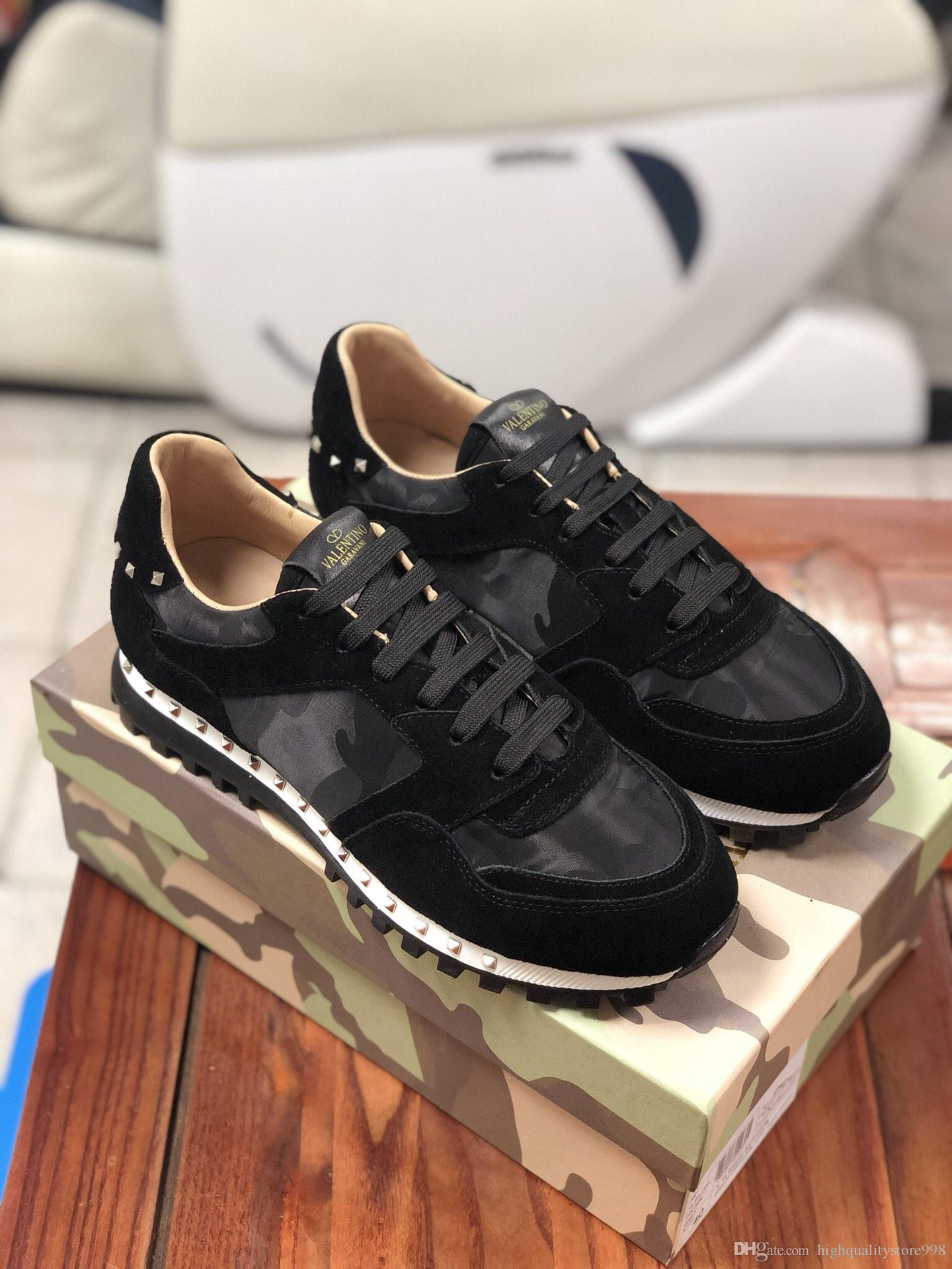 mens Women Shoes Genuine Leather Sneakers the lastest 2020ss Fashion Casual Shoes trainers women Mixed Color sports running new