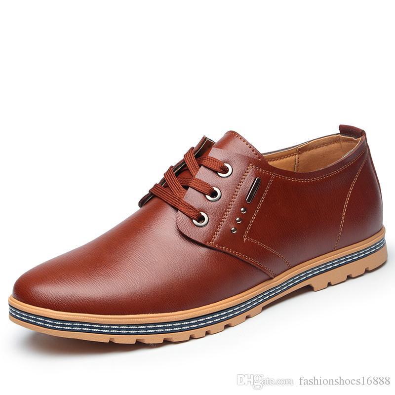 a7eb0129 Compre Altura Aumentada 6 CM 2019 Nueva Moda Joven Cómoda Oxford Suela De  Goma Antideslizante Zapatos Con Elevador Zapatos De Cuero Ocasionales De ...