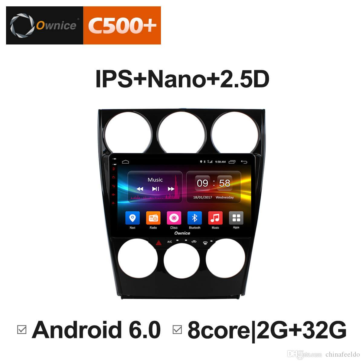 9 2 5D Nano IPS Screen Android Octa Core/4G LTE Car Media Player With GPS  RDS Radio/Bluetooth For Mazda 6 2006-2015#5862