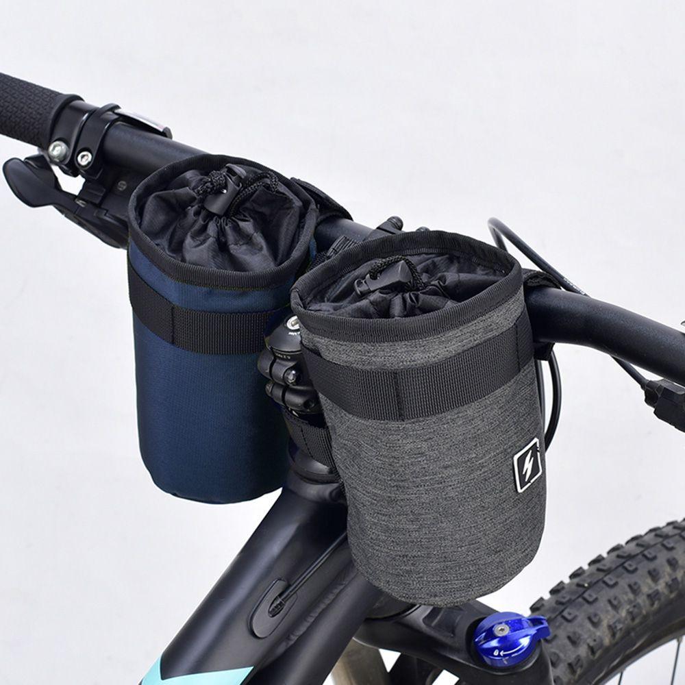 2019 Bicycle Handlebar Water Bottle Bag Bike Front Tube