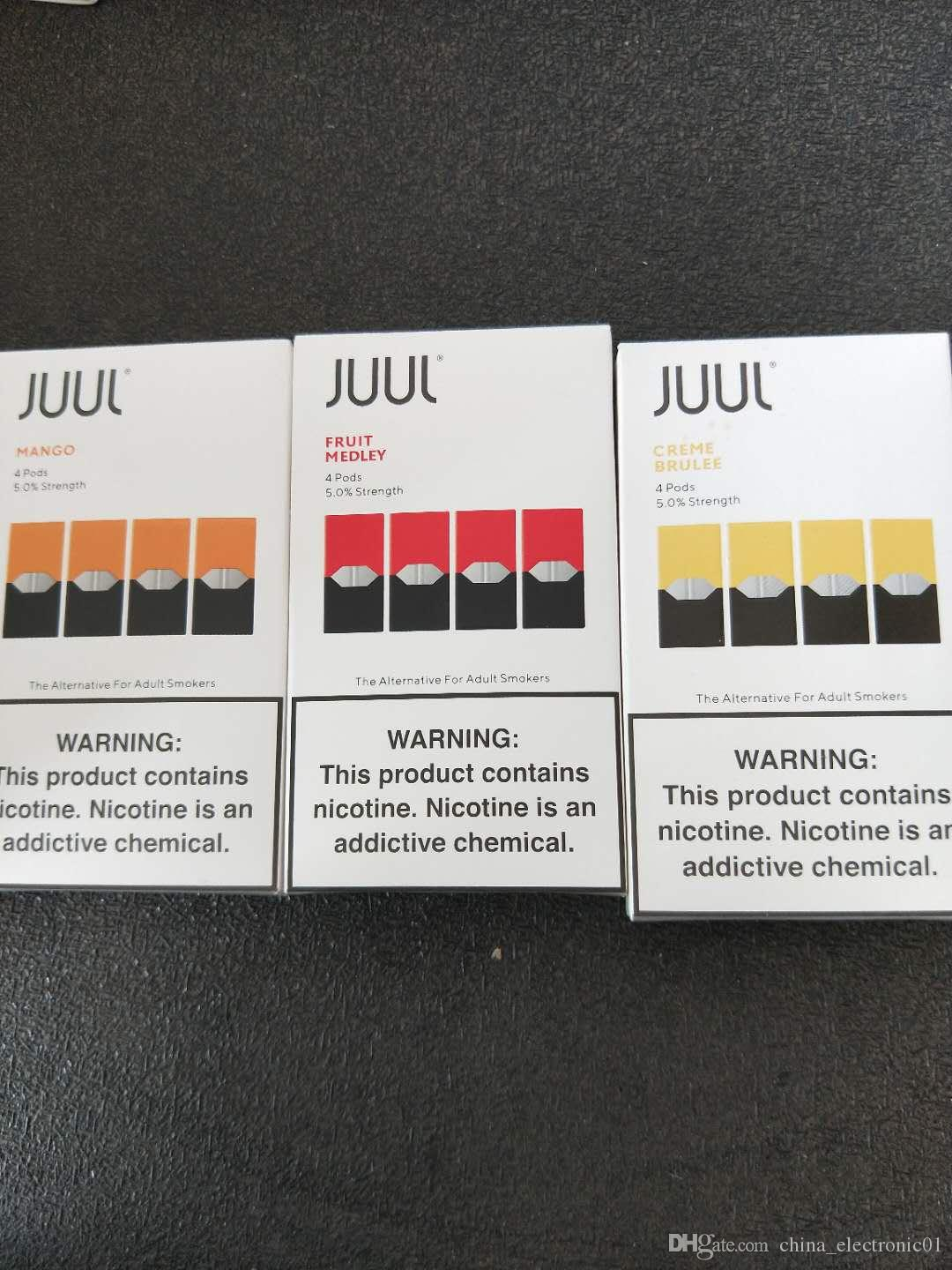 Best Rda For Flavor 2020 2020 NEW Juul Pods 8 Flavors 0.7ml Cartridge No Leak 4 Pods In One