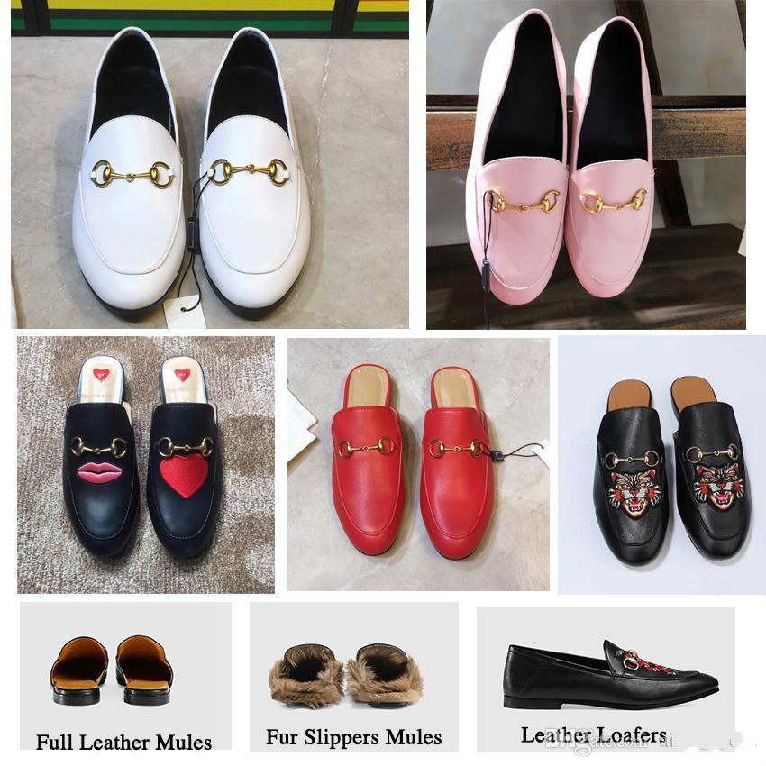 03984530779 Compre Mule Piel Zapatillas De Cuero Planas Zapatos De Gamuza Moda Damas De  Lujo Al Aire Libre Mujeres Marca Diseñador De Lujo Cadena De Moda Señoras  ...