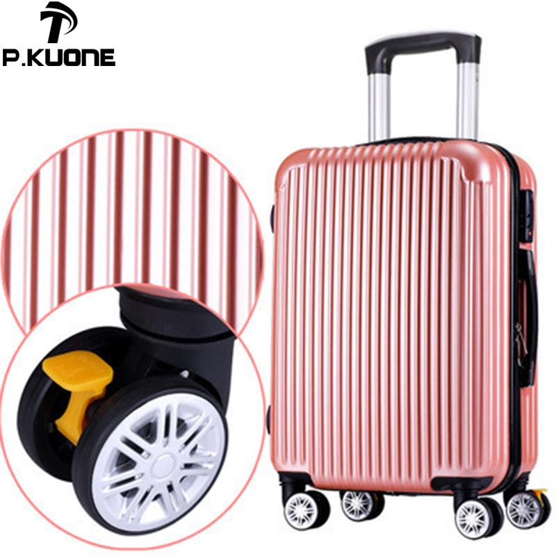 f18c95219 Suitcase ABS+PC new style fashion luggage 20 26 inch trolley suitcase  travel bag luggage bag Rolling with spinner wheel