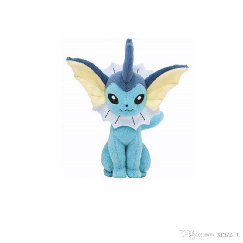 22cm Center Plush toys Pikachu dolls Jolteon Umbreon Flareon Eevee Espeon Vaporeon Kids Children Toy gifts 9 styles in stock