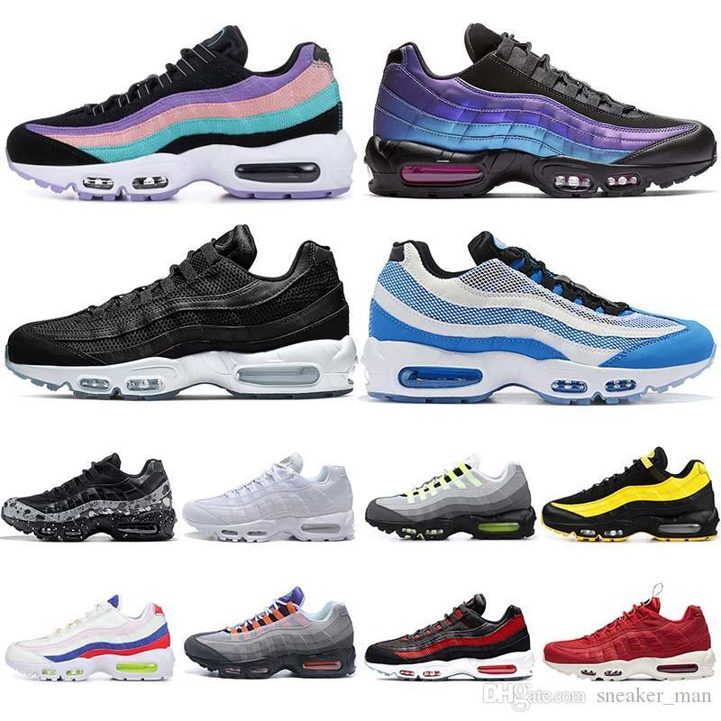 Nike Supérieur matériel Femme Chaussures Air Max 95 Triple