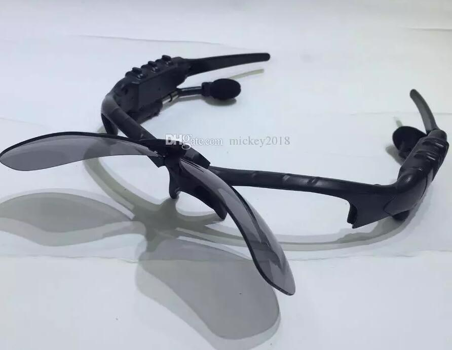 Compre 2019 Óculos Inteligentes Esporte Estéreo Sem Fio Bluetooth 4.0 Fone  De Ouvido Telefone Polarizada Condução Óculos De Sol Equitação Polarizada  Luz ... a37d9a50f1
