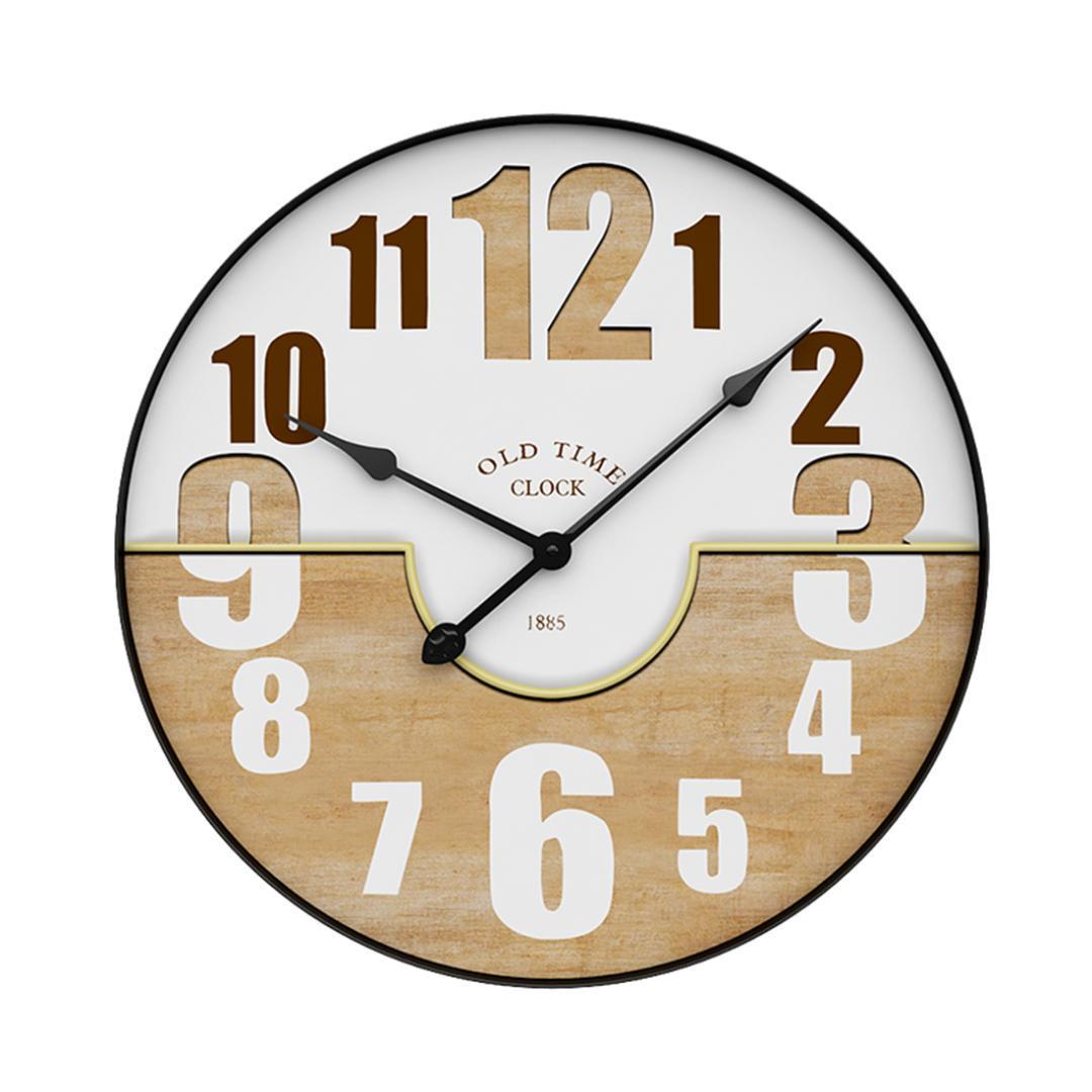 Großhandel Nordischen Stil Eisen Ring Stille Hängende Uhr Vintage ...