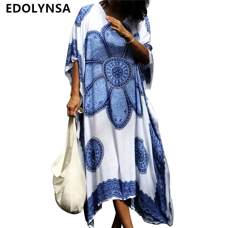4ea2ea46d56e4 2019 Beach Dress Cotton Beach Cover Up Robe De Plage Women Tunic ...