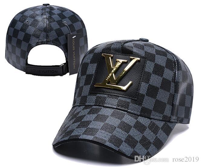 c8f09b328856 2019 la mejor calidad de cuero Snapback Caps Nueva York sombreros de  béisbol ajustables casquette Snapbacks alta calidad deportes hombres  mujeres ...