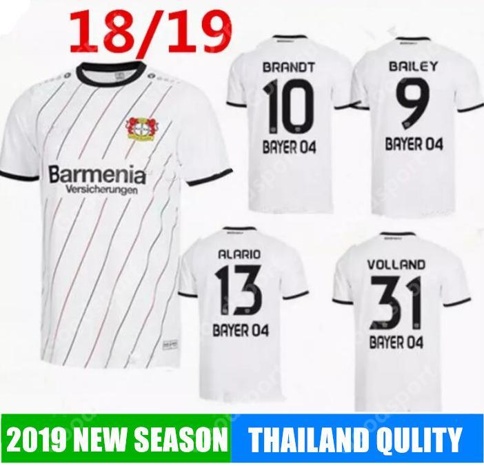 c8b494324 Camiseta De Fútbol 2019 Del Bayer 04 Leverkusen Local 2018 2019 Leon Bailey  Julian Brandt Lucas Alario Kevin Volland Camisetas De Fútbol De Fútbol  Futboil ...
