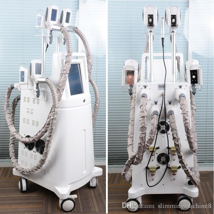 cryolipolysis Körper, der fetten einfrierenden Gewichtsverlust der Maschine abnimmt cryolipolysis, der gleichzeitig Arbeit des Kryo-Griffs der Maschine 4 abnimmt