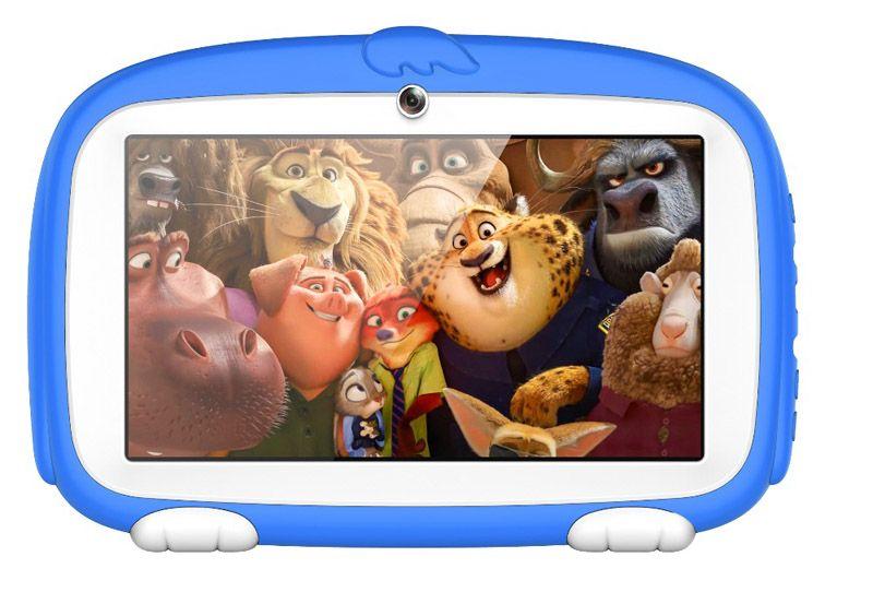"Kids Brand Tablet PC 7"" 7 inch Quad Core children Cute cartoon dog tablet Android 4.4 Allwinner A33 google player 512MB RAM 8GB ROM MQ10"