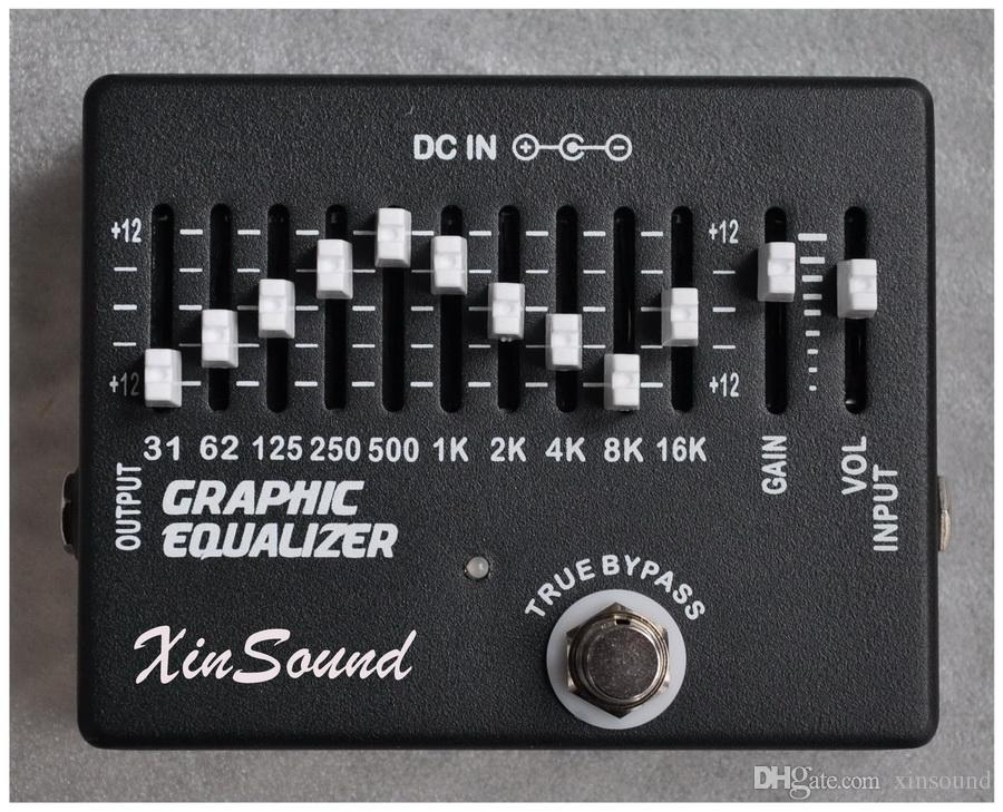 10 2 Band Equalizer EQ Guitar Effects Pedal XinSound EQ-99 by Handmade  Graphic Equalizer