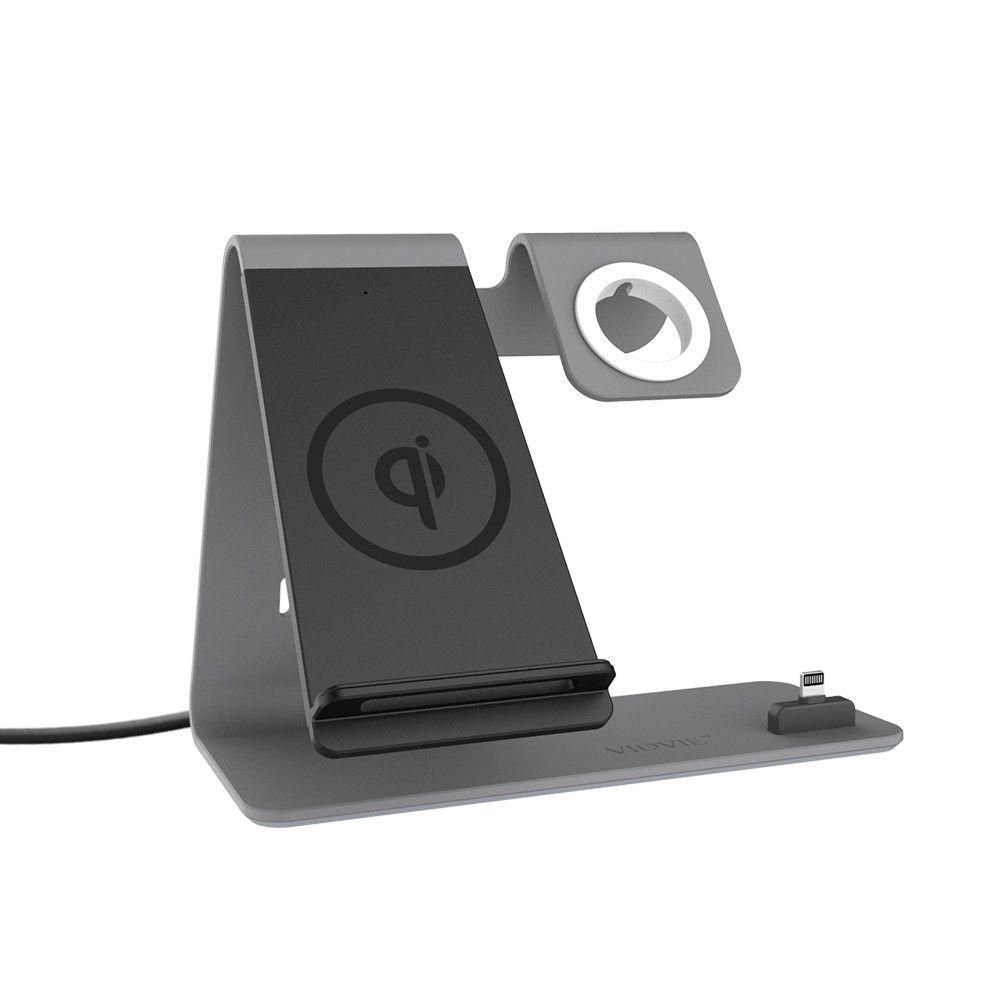 aa3ac5cd941 Baterias Portatiles Para Movil VIDVIE Qi Cargador Inalámbrico Para IPhone X  XS 8 XR Samsung S9 S10 S8 Estación De Acoplamiento Inalámbrica Rápida  Cargador ...