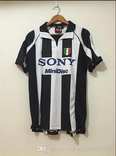 16dbbe2df94 2019 Retro 1997 1998 Juventus Centenary Alessandro Del Piero 10 ZIDANE Home Soccer  Jersey Football Shirt Trikot Maglia Camiseta De Fútbol From ...
