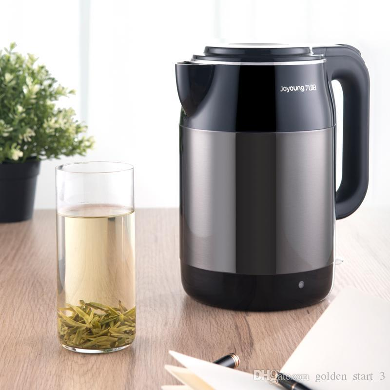 New Joyoung Household Electric Kettle 1 7l Stainless Steel Water Boiler Double Anti Scalding 8 Hours Insulation Teapot 220v