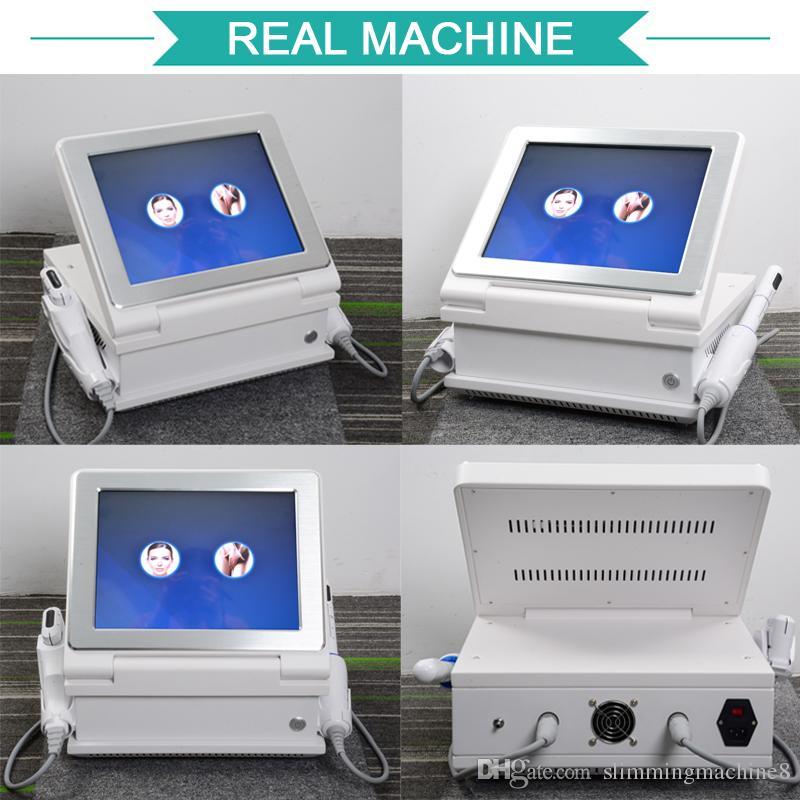 HIFU máquina 2019 High Intensity Focused Ultrasound HIFU para o rosto elevador corpo emagrecimento equipamentos de ultra-som beleza