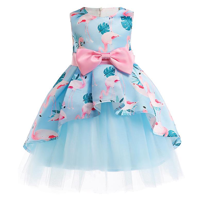 3e8af222d2d2c Acheter Robe De Fille Eté Fille Florale Princesse Robes De Fête Vêtements  Enfants Tutu Mariage Bébé Fille Vêtements 2 3 4 5 6 7 8 9 10 Ans De  93.45  Du ...