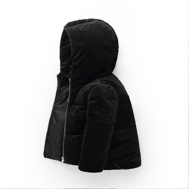 4abfb34bbbb7 Children Winter Jackets 2018 New Girls Winter Coat Autumn Warm ...
