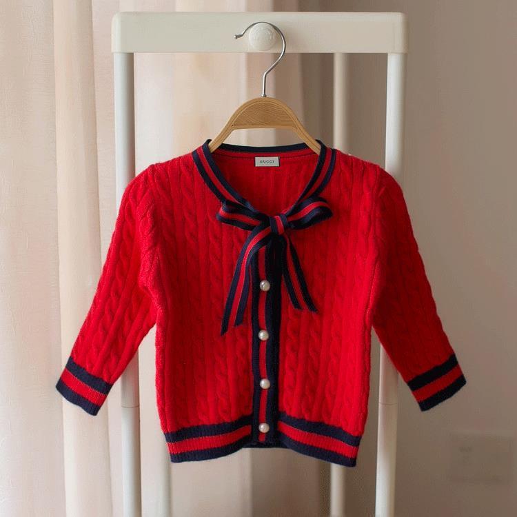 40ceaa0566b90 Acheter Cardigans Pour Filles Korean Edition Vêtements Pour Enfants Pull À  La Mode Pour Enfants De  16.46 Du Sky baby