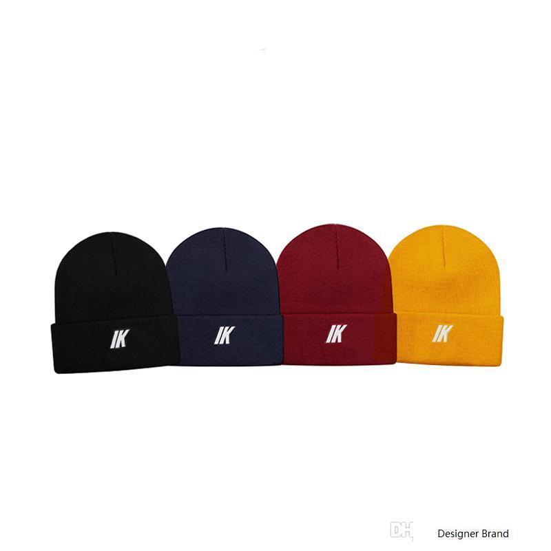 18FW New Week6 Box Logo Beanie Cold Cap Knitted Hat Cap Street Travel Fishing Casual Autumn Winter Hat Outdoor Sport Hats Tour HFLSMZ042