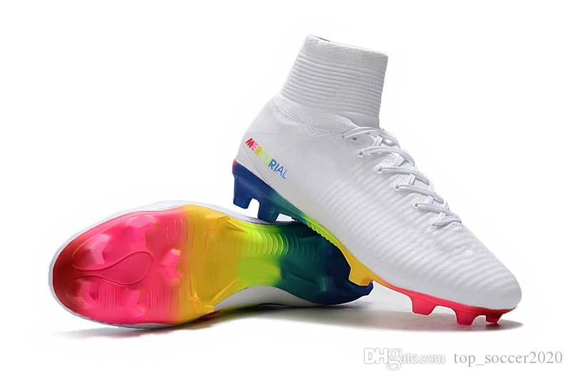 80f2fa590 2019 New 2019 Top Quality Soccer Boots Mercurial Superfly V AG FG Soccer  Shoes Mens/Women/Kids Outdoor Soccer Cleats From Top_soccer2020, $57.46 |  DHgate.