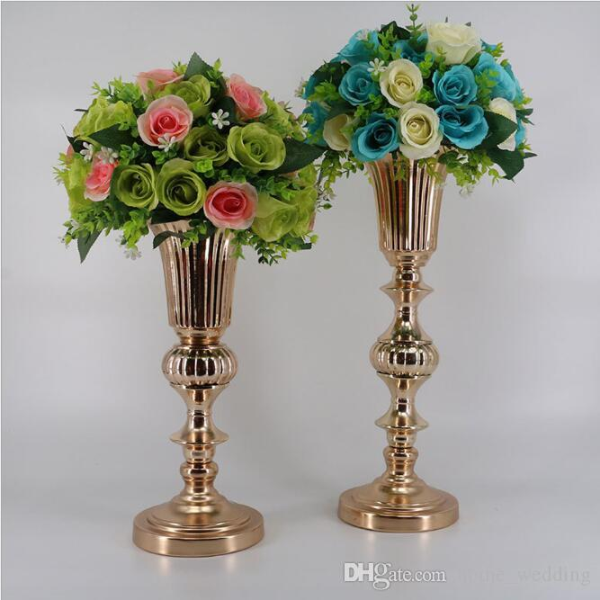 Wedding Flower Vases Wholesale: Wholesale Hot Wedding Flower Vases Table Centerpiece