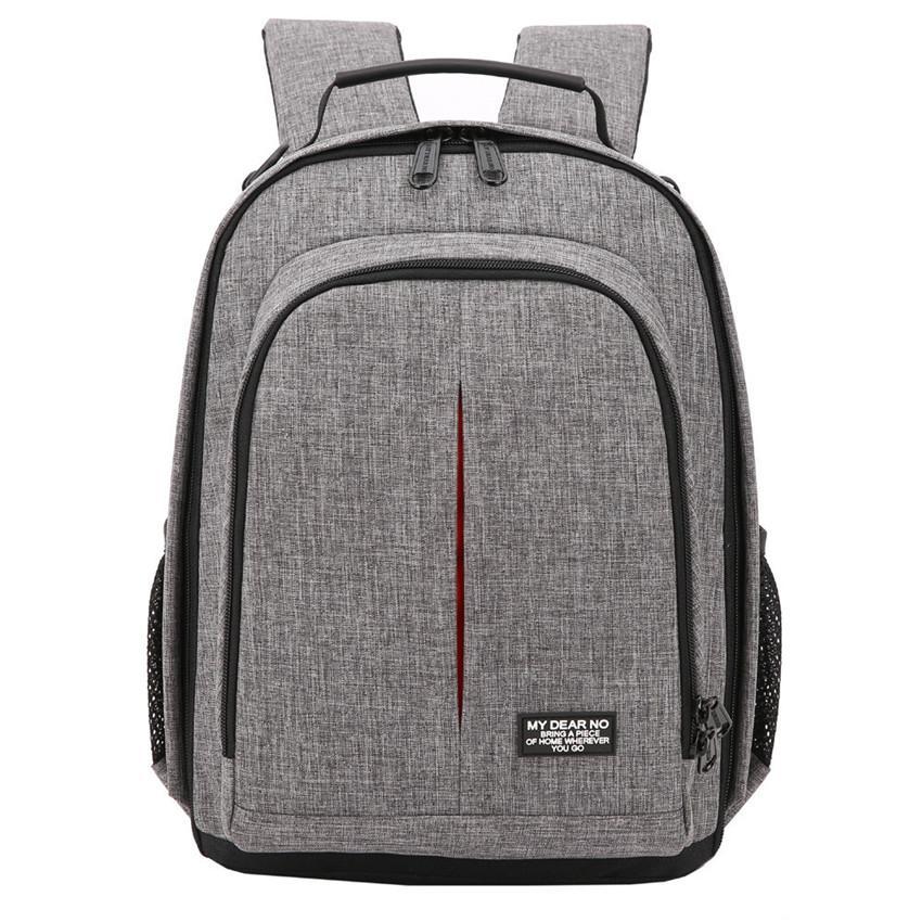 9ba94b85fd84 heap Camera/Video Bags Photo Camera Waterproof Backpack Video Shoulders  Soft Padded Bag w/ Rain Cover Men Women Case Pack for Canon Nikon...