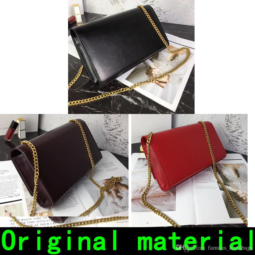 Designer Handbags cowhide leather material Gold chain Silver chain high quality Designer handbag Shoulder Bags