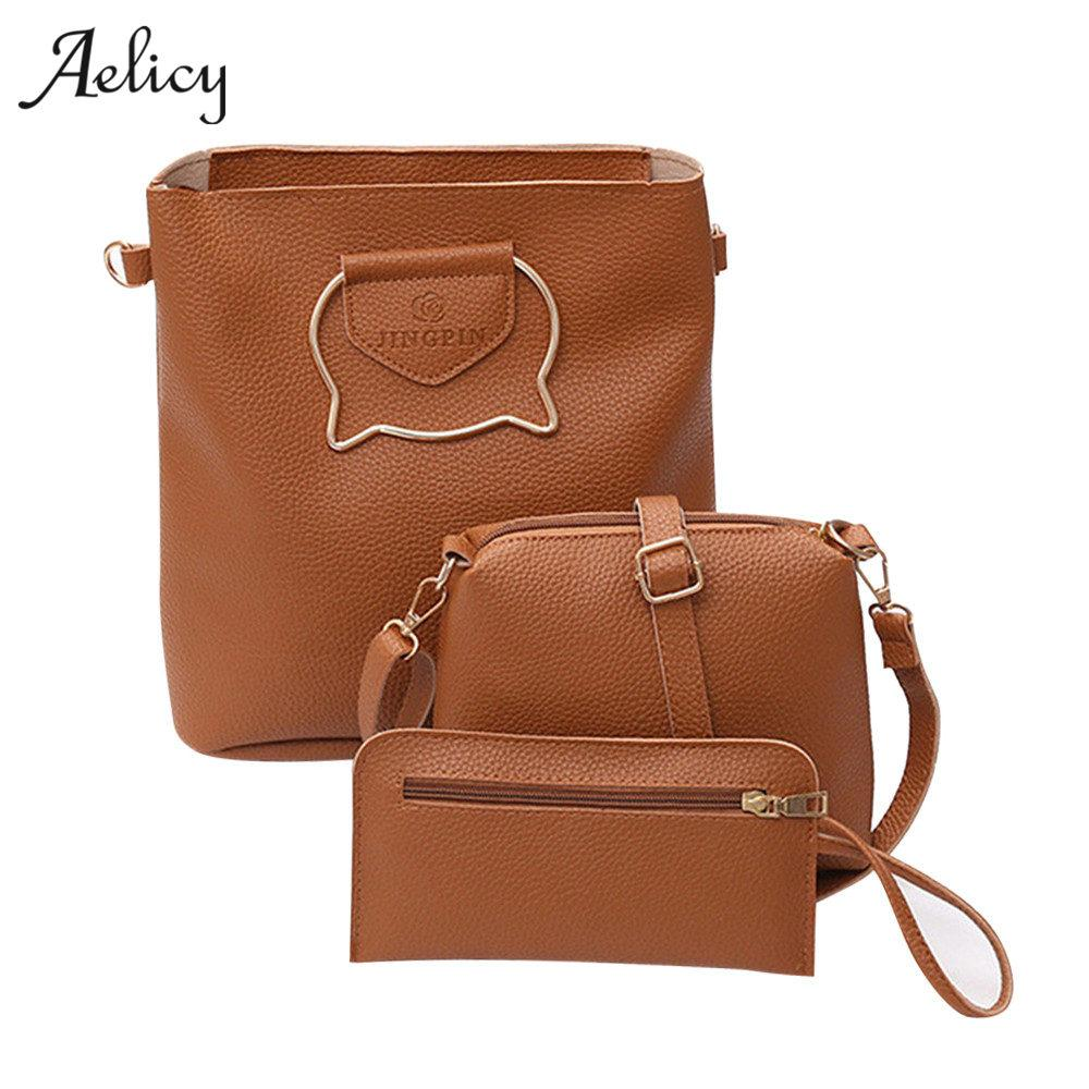 30861b0e4b6 2019 Hot Sales Famous Brand Composite Bag Set Women Women S Leather  Shoulder Bag High Quality Tote Bag 1003 Duffle Bags Messenger Bags For Men  From Naforan, ...